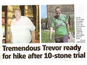 Inspirational Trevor Loses 11 Stone